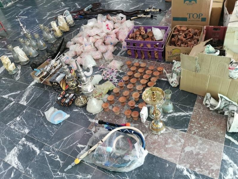 تنباك وسجائر ومعسل منتهي الصلاحية ضمن مصادرات بلدية الدواسر
