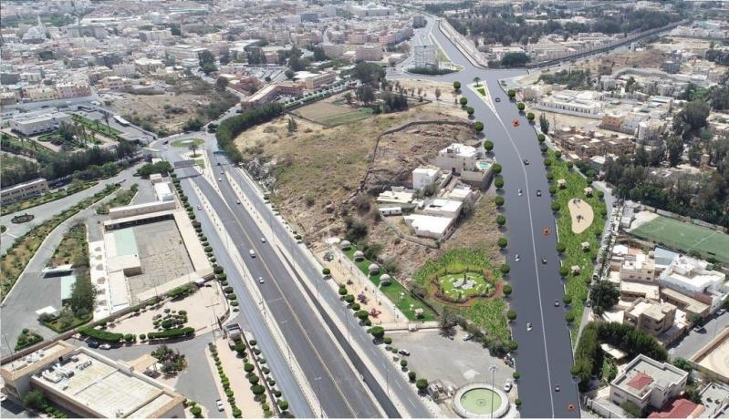 بدء إنشاء جسر ونفق طريق الملك خالد وتطوير المدخل الغربي بالطائف