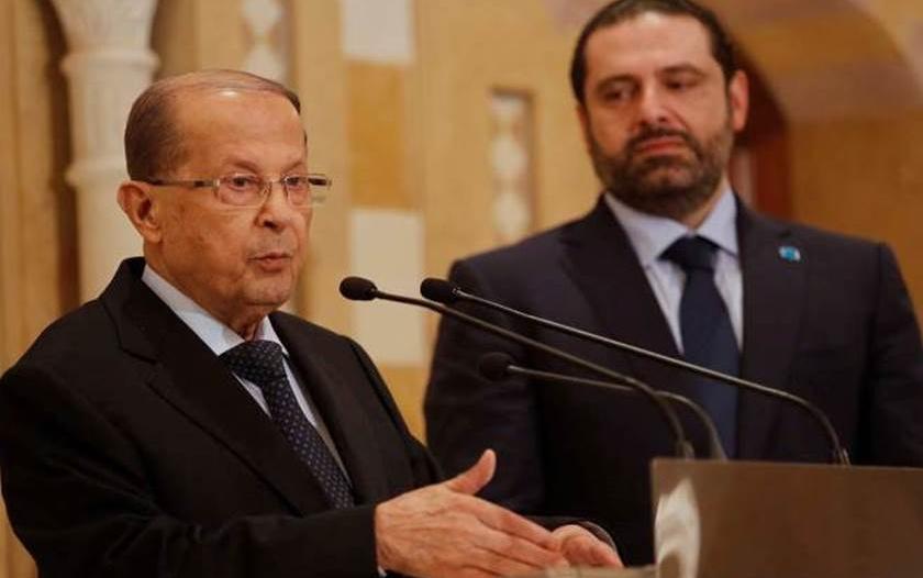 رئيس لبنان يتهم سعد الحريري بالفشل : إما أن تشكل الحكومة أو تتنحى