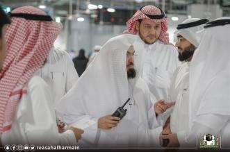 السديس للعاملين على باب الملك عبدالعزيز 3