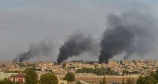 قوات تركيا تخرق وقف إطلاق النار وتقصف رأس العين