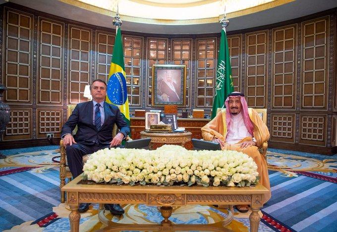 بولسونارو:المملكة والبرازيل يتشاركان الرؤية والطموحات لتحقيق الرفاهية والازدهار لشعبيهما