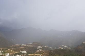 تجدد الأمطار على رجال ألمع - المواطن