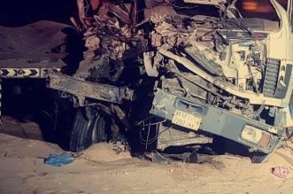 44 مصابًا في تصادم باص بمركبة خلال توجهه من المويه إلى ظلم - المواطن