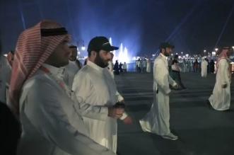 فيديو.. تركي آل الشيخ في بوليفارد الرياض وهكذا استقبله الزوار - المواطن