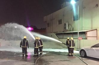 حريق في محطة وقود بالدمام والمدني يتدخل - المواطن