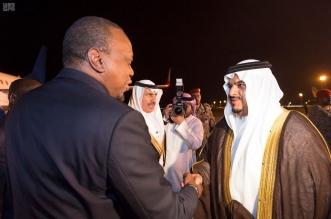 رئيس جمهورية كينيا يصل الرياض