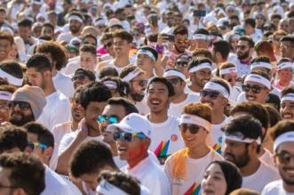 سباق الألوان يحقق رقمًا قياسيًّا في بوليفارد الرياض - المواطن