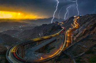 قصة المالكي.. يلاحق البرق في سماء الطائف وعاشق الطبيعة - المواطن