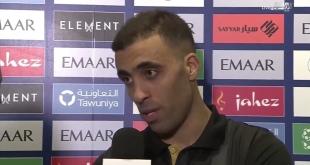 حمد الله: لابد أن يعرف #الهلال مع من يلعب.. #النصر فريق كبير