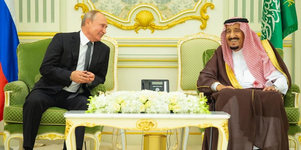 ما هي الهدايا المتبادلة بين الملك سلمان وبوتين في قصر اليمامة؟