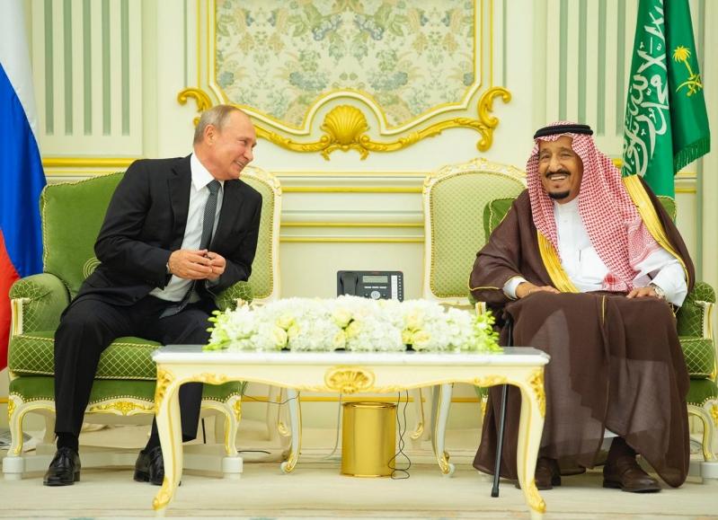بوتين : أنا ممتن جدًا للملك سلمان وولي العهد لدعم أسواق النفط