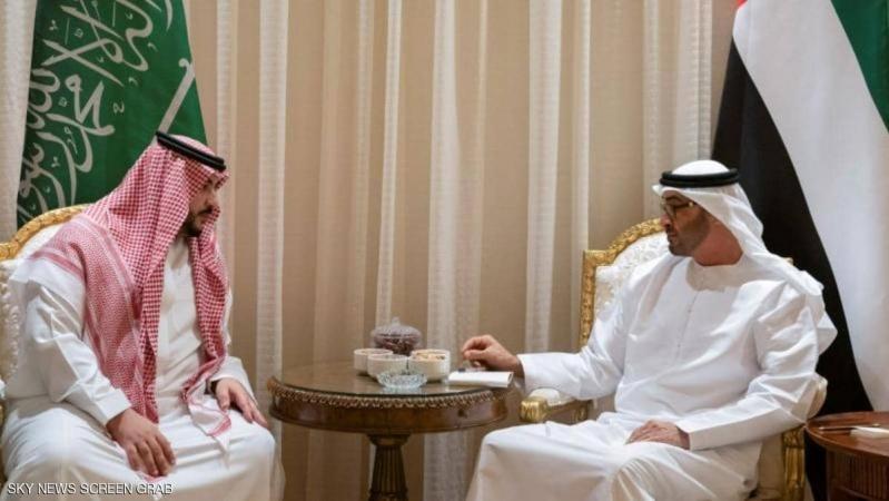 تفاصيل لقاء خالد بن سلمان ومحمد بن زايد في أبو ظبي