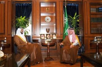 الجبير يستعرض العلاقات الأخوية مع سفير الإمارات لدى المملكة - المواطن