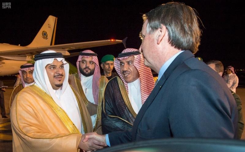 رئيس جمهورية البرازيل الاتحادية يغادر الرياض - المواطن