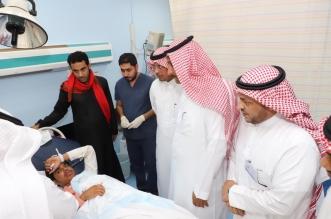 صور.. إصابة ٣ طلاب في انقلاب مركبة ببحر أبو سكينة - المواطن