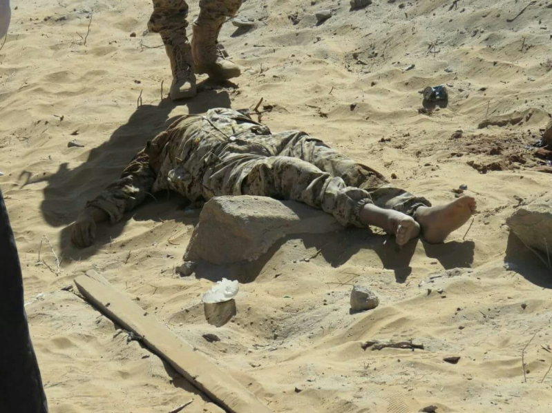 100 قتيل حوثي في أسبوع من المعارك بمحافظة حجة