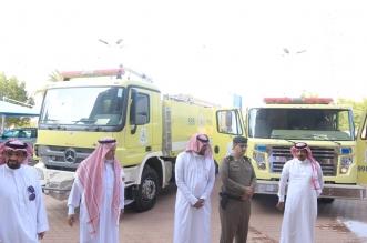 صور.. حريق بمبنى بلدية محافظة بارق - المواطن