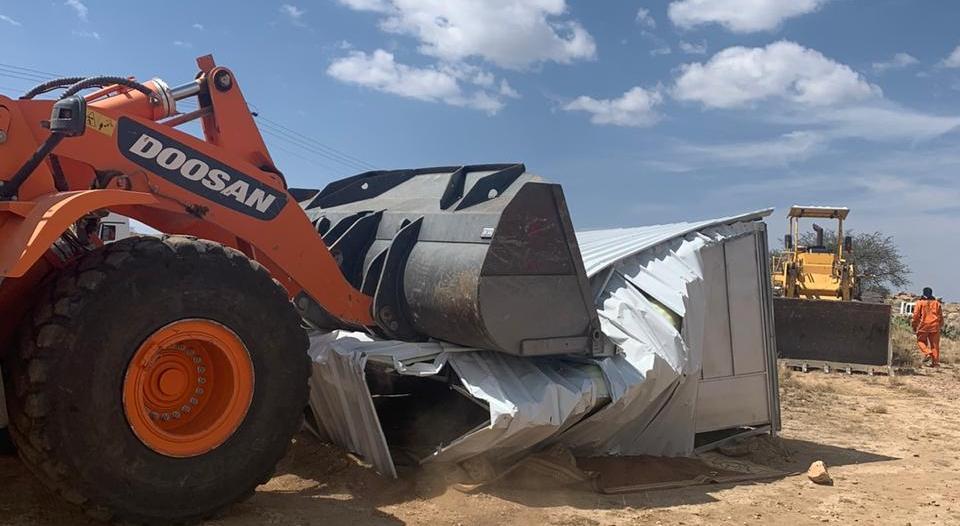 إزالة إحداثات بمساحة أكثر من 37 ألف متر في أحد رفيدة