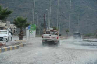 أمطار رجال ألمع تلطف الأجواء - المواطن
