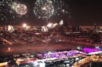 فيديو.. الألعاب النارية تضيء سماء موسم الرياض - المواطن