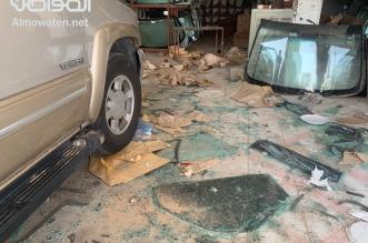 عاصفة حفر الباطن تنعش مبيعات محلات زجاج السيارات - المواطن