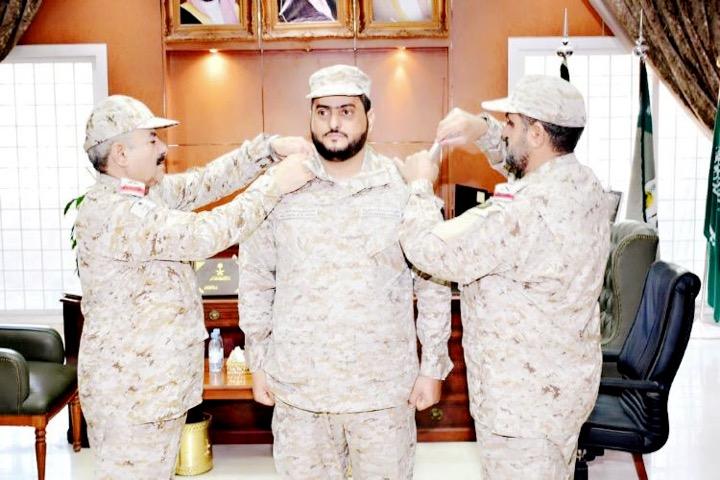 الشواطي إلى رتبة عقيد بوزارة الدفاع
