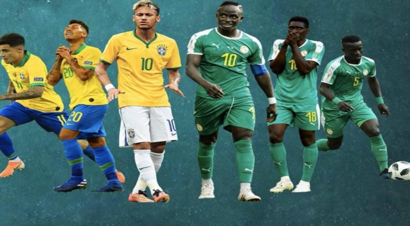 التعادل الإيجابي يحسم ودية البرازيل ضد السنغال