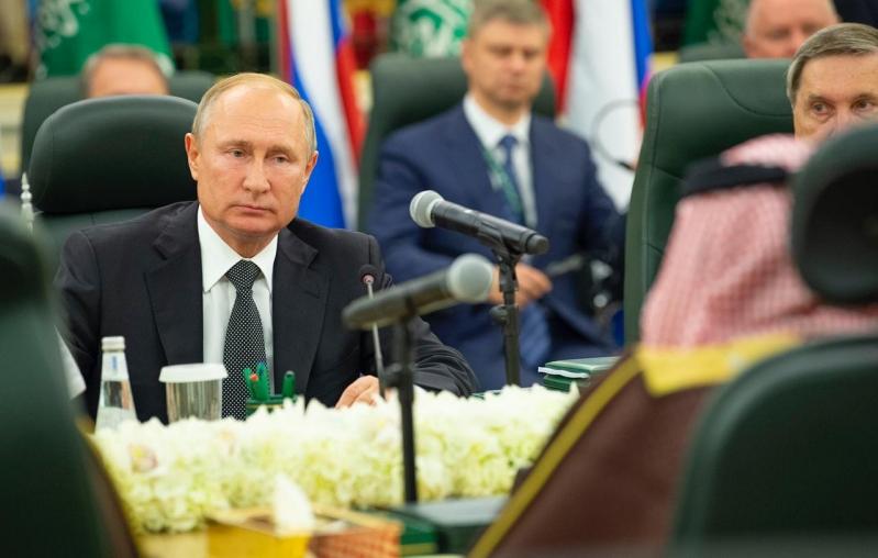 فيديو.. بوتين: يستحيل تحقيق التنمية المستدامة في المنطقة دون مشاركة المملكة
