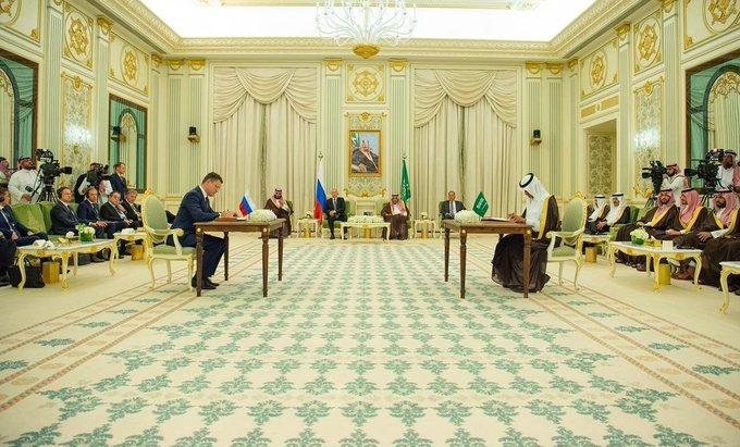 فيديو.. تفاصيل 20 اتفاقية بين السعودية وروسيا بحضور الملك سلمان والرئيس بوتين