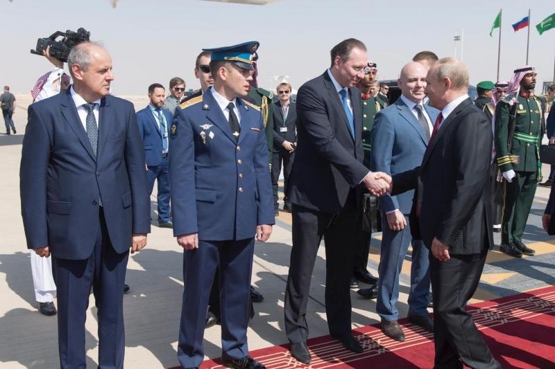 الرئيس الروسي يغادر الرياض بعد زيارة تاريخية شهدت توقيع 20 اتفاقية - المواطن