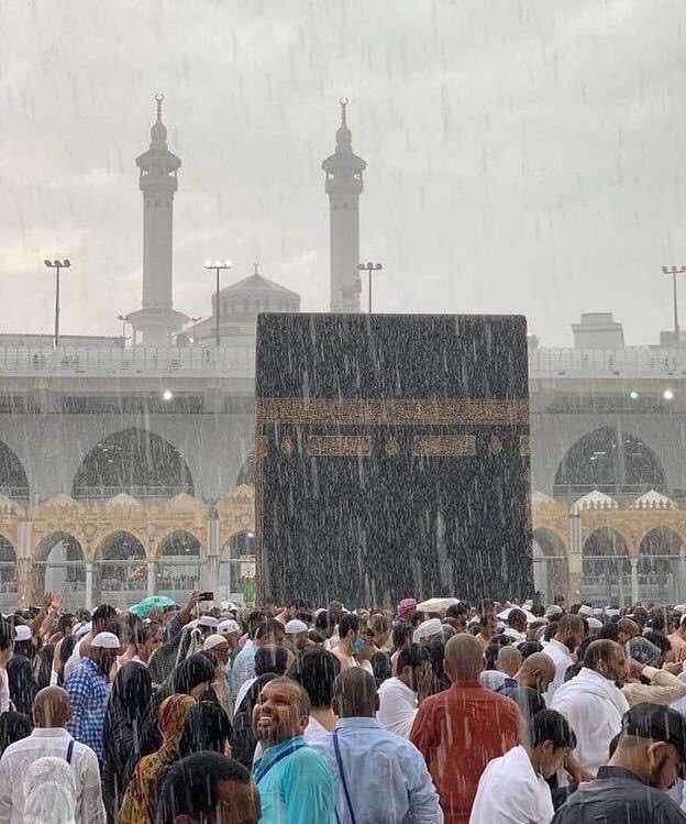 فيديو وصور.. أمطار غزيرة وتطبيق خطة الطوارئ في مكة - المواطن