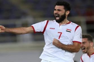 خربين يُشارك في تدريبات المنتخب السوري - المواطن