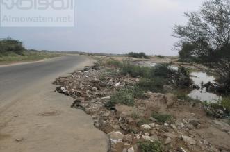 العقوم الترابية للمزارعين تغير مجرى السيول وتهدد سكان صامطة والقرى - المواطن