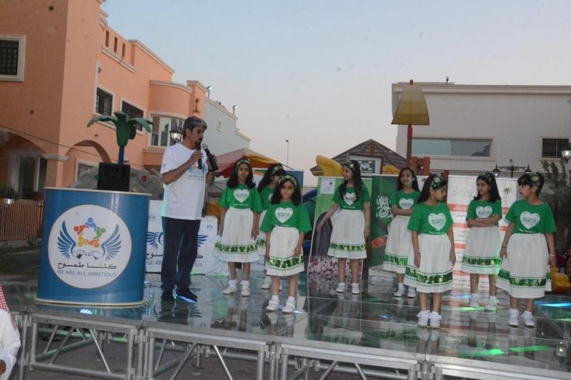 صور.. أطفال دار الحضانة يستضيفون مُسني الرياض