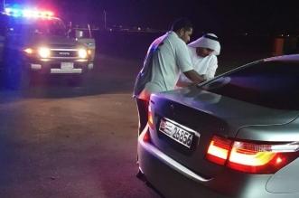 حرس الحدود يساعد إماراتيًّا نفد وقود مركبته في الشرقية - المواطن
