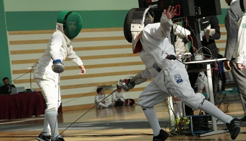 أخضر المبارزة يختتم بطولة آسيا بنتائج سلبية