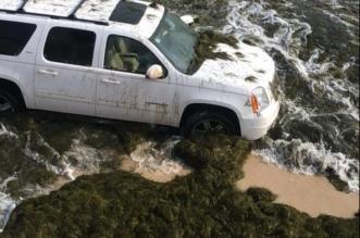 حرس الحدود ينقذ عائلة من 8 أشخاص في الخفجي - المواطن