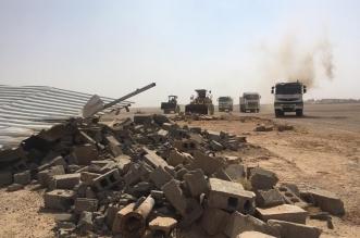 صور.. استعادة 14 قطعة أرض حكومية بالرس وإزالة التعديات عليها - المواطن