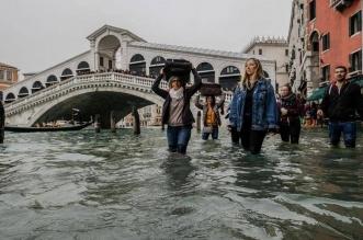 مياه الفيضان تغمر 85% من البندقية! - المواطن