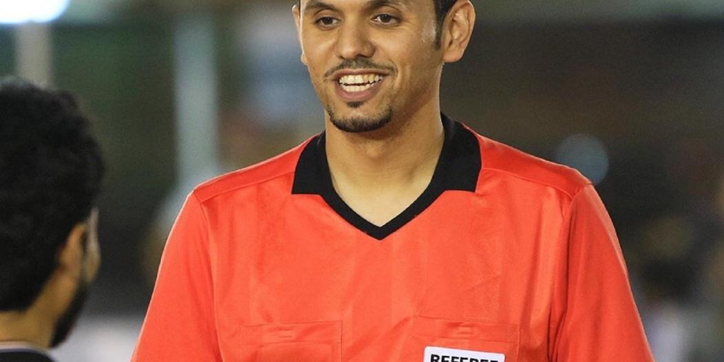 محمد الهويش يُدير مباراة الإمارات وإندونيسيا
