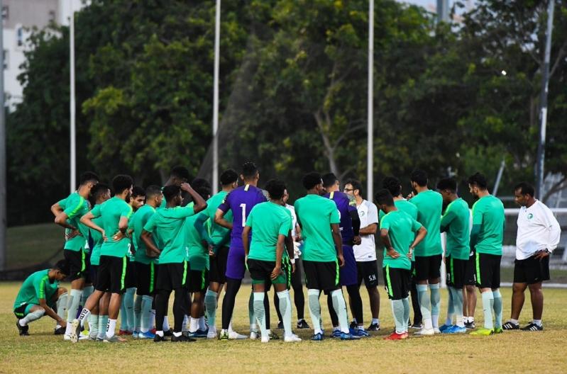 الأخضر الأولمبي يختتم استعداداته لمواجهة أوزبكستان