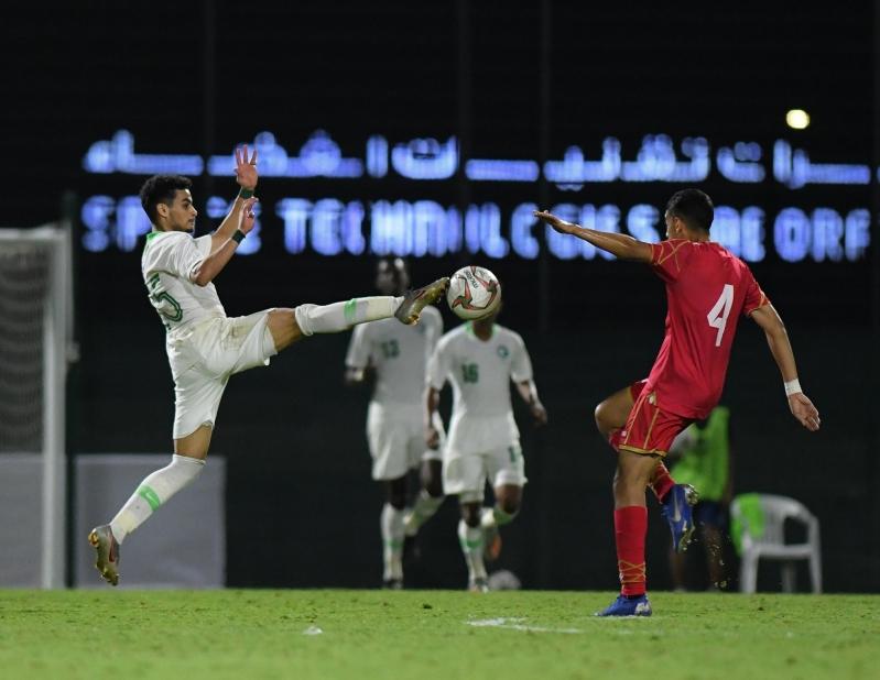 الأخضر الأولمبي يفوز على البحرين بثنائية