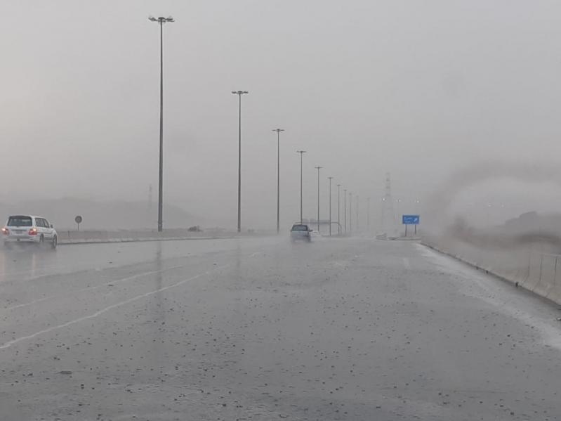 استمرار هطول الأمطار على 4 مناطق
