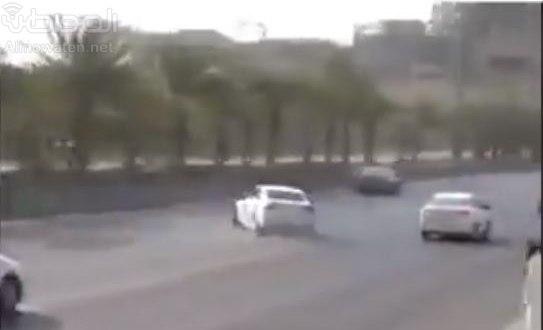 مرور الرياض يوضح حقيقة مقطع تفحيط الدائري الغربي   صحيفة المواطن الإلكترونية