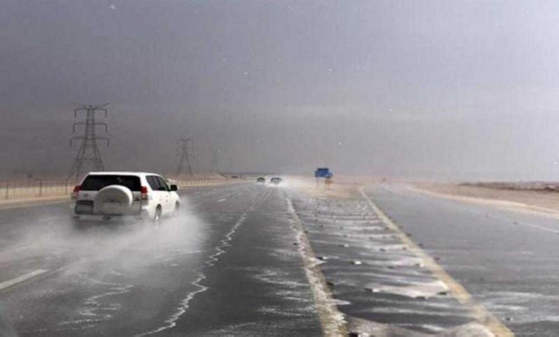 تحذيرات من أمطار طريق الطائف – الباحة