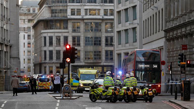 قتيلان جراء حادث الطعن في لندن