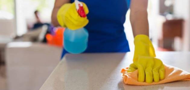 نصائح لتجنب الإنفلونزا عند تنظيف المنزل