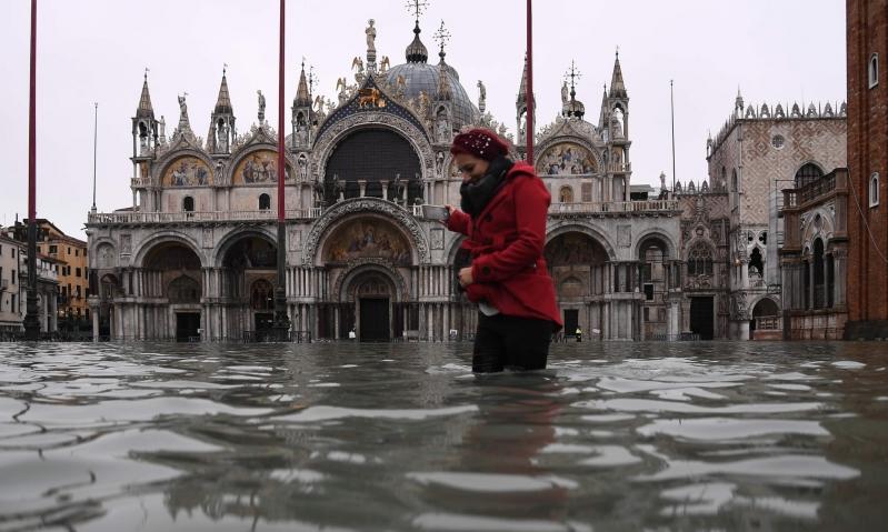 فيضانات البندقية في صور