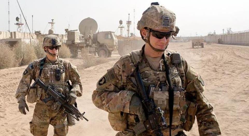 سقوط 17 صاروخًا قرب قاعدة أمريكية في نينوى